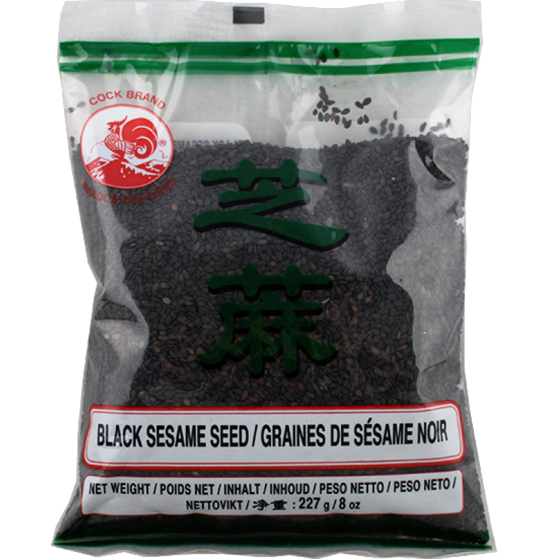 Cock Brand Dried Black Sesame-227g