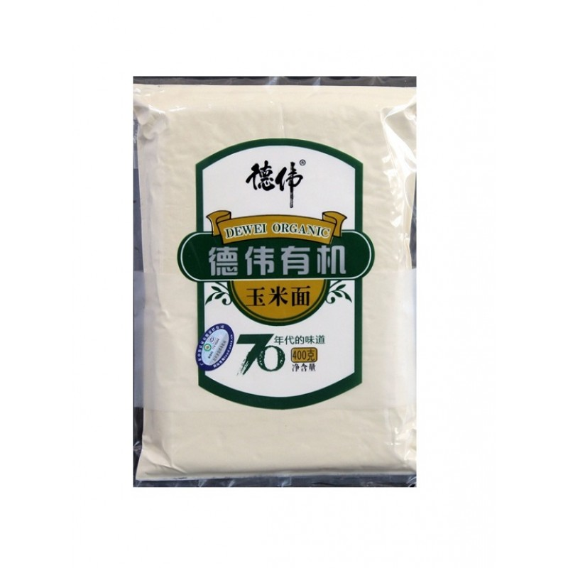 Dewei Organic Corn Powder 400g