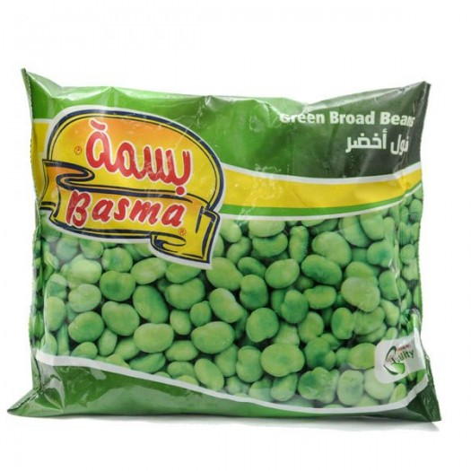 Basma Green Broad Beans 400g