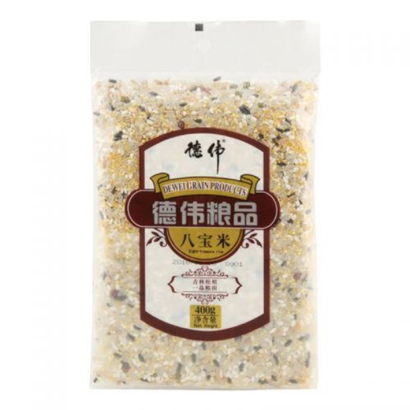 Dewei Grain Products Eight Treasure Rice 400g