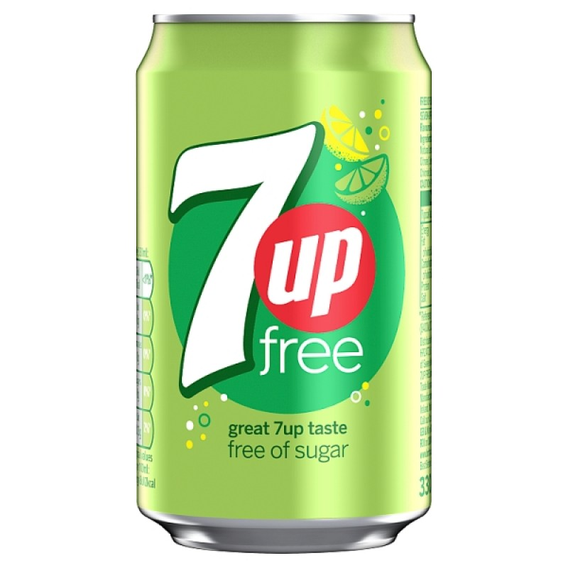 7UP Free (Can)-330ml