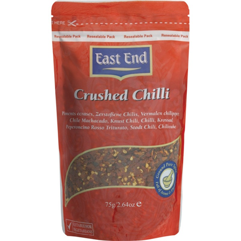 East End Crushed Chilli 75g