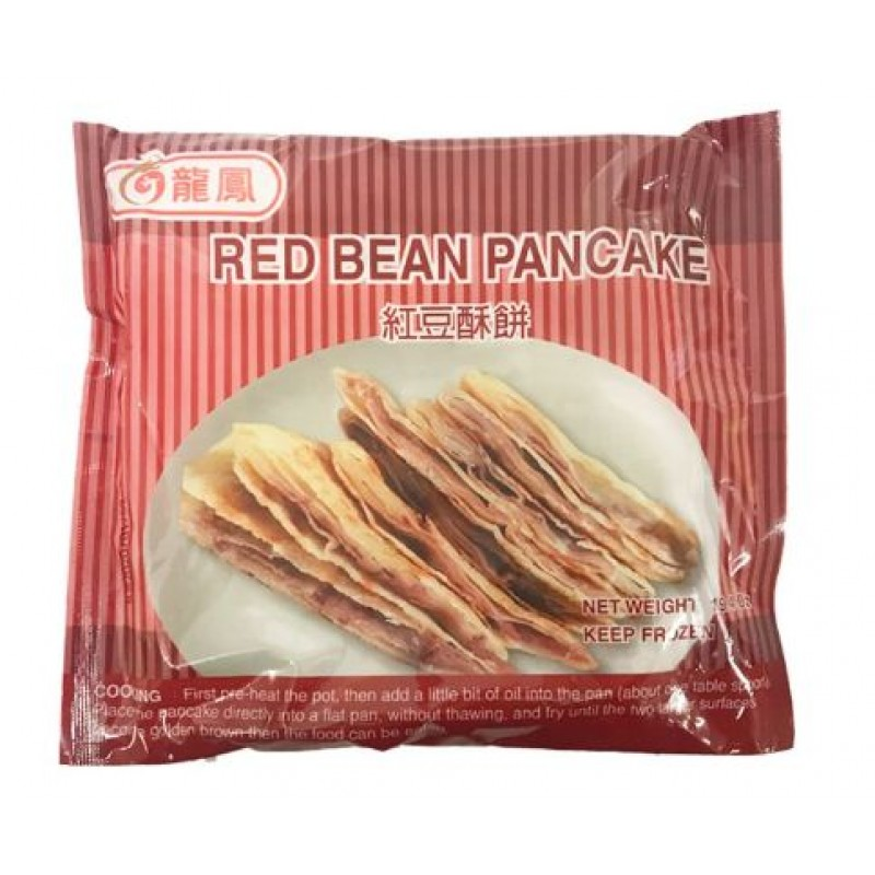 Long Feng Red Bean Pancake 550g