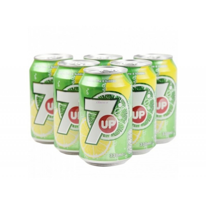 7UP (Can)-330mlx6